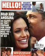 HELLO MAGAZINE #1030 BRAD & ANGELINA, KATE FORD, NICOLE KIDMAN, BILLY ZANE