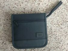 IBM 24 Disc CD Carrying Case Wallet Black