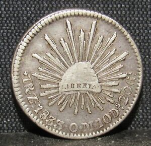 Mexico 1833 Z OM 1 Real XF