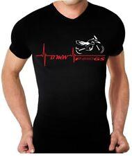 T-shirt maglia per moto BMW F 650 GS battito cuore F650GS tshirt maglietta