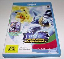Pokken Tournament Nintendo Wii U PAL *Complete*