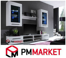 Living Room High Gloss Furniture Display Wall Unit Modern TV Unit Cabinet TIMBER