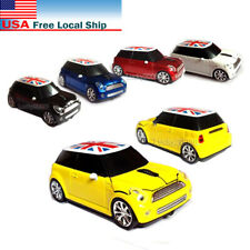 3D Mini Cooper BMW car 2.4Ghz Wireless Mouse Cordless Optical PC Laptop Mice USB
