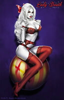 "Lady Death Pin-Ups #1 ""Naughty Holidays"" Ltd. Ed. 300 Chatzoudis  Comic Book"