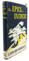 Leonard Wibberley THE EPICS OF EVEREST  1st Edition 1st Printing