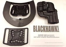 "Blackhawk Serpa CQC Concealment Right Hand Holster Taurus 85 2""  410532BK-R"