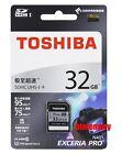 Toshiba Exceria Pro 32GB 95MB/s 95R 75W SDHC UHS-I U3 4K Class10 SD Memory Card