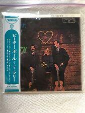Peter Paul & Mary Rousing...& Real The Folk Singers Three SHM CD MINI LP Japan
