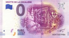 30 COURRY Grotte de la Cocalière 2, Lérot, 2019, Billet 0 € Souvenir