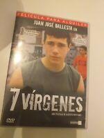 Dvd   7 VIRGENES CON JUAN JOSE BALLESTA coleccionistas
