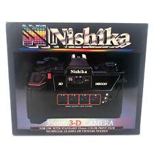 Nishika N8000 35mm Quadrascopic Stereo 3D Photo Lenticular Film Retro Camera NEW
