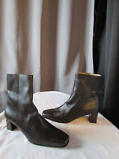 boots/bottines thierry 21 cuir marron chocolat 39
