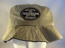 Atlanta Thrashers NHL Vintage Bucket Hat Size Large American Needle