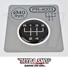 1x Schalthebel Silikon Aufkleber für Schaltknauf 3D Sticker | ∅=40mm | PR-4003