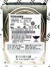 Toshiba 320GB MK3252GSX SATA (HDD2H01 F VL01 S) Laptop HardDrive WIPED & TESTED!