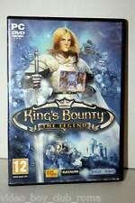 KING'S OF BOUNTY THE LEGEND VERSIONE SPREA GIOCO USATO PC ED ITALIANA PAL 30550