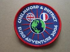 Chelmsford Euro Adventure 2004 Cloth Patch Badge Boy Scouts Scouting L5K G