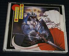 Tokyo Blade Night Of The Blade Rare Slimline 1985 Autographed Htf Nwobhm Oop
