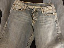Lucky Brand Womens 8 Dungerees Easyy Rider Starfish Button Fly