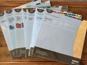 Creative Memories Designer Print Paper Packs -Achievements, Earthy, New Years...