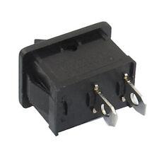 5 Pcs SPST On/Off Momentary Off Rocker Switch AC 250V/6A 125V/10A