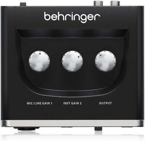 Behringer U-PHORIA UM2 Computer Audio Interface