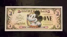 DISNEY DOLLARS,2008 ,$1 MICKEY,Superb Mint condition