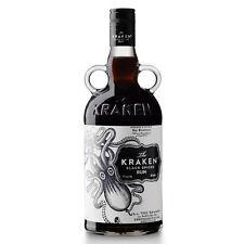 Rum THE KRAKEN BLACK SPICED cl. 70 Rhum Nero dei Caraibi Speziato  Ron 40%25 VOL.
