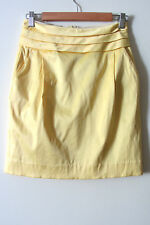 REVIEW yellow skirt Size AUS 8, NEW