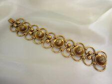Vintage Armband Modeschmuck aus den 50er Jahren vergoldet