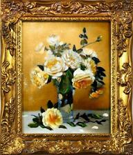 Ölgemälde Barock Bild Bilder Gemälde Ölbilder Ölbild Bilderrahmen Rahmen G01703