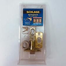 Privacy/passage Plain Latch No 40-250 605 Triple Option Schlage Lock Co