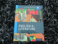 Ib English a Literature Course Book: Oxford Ib Diploma Programme: For the Ib...