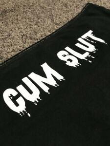 Cum Slut Knickers - Naughty Underwear DDLG Kinky BDSM Bondage Sub