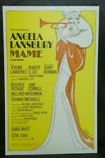 "Angela Lansbury Mame Musical Theater Broadway Window Card Poster 14"" x 22"""