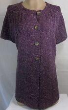 New Womens Plus Size Clothing Charter Club 0X Purple Sweater Shirt Knit Top