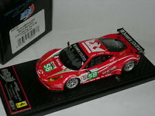 BBR Models 1:43 BBRC62 Ferrari 458 Italia GT2 24H Le Mans 2011 Luxury Racing #58