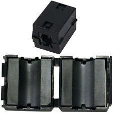 11.5 Mm Clip en el núcleo de ferrita-Cable De Datos-ferroso anillo grano de choque con Filtro Emi RFI