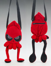 "Squib Plush Purse Red Grumpy Squid 17""   ltd 400pc"