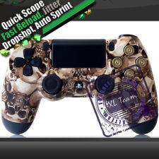 PS4 Skull Rapid Fire Bullet Modded Controller COD BO3 BF4 Black Ops 3 1000+Combo