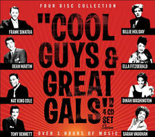 Cool Guys Great Gals 1950s 50s Music 4 CD New Sealed