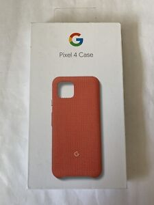 Google Pixel 4 Fabric Case (Coral)