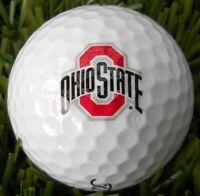3 Dozen (Ohio State BIG Logo) Titleist Tour Soft Mint / AAAAA Golf Balls