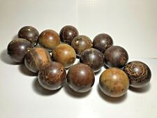 Lot of 14 Vintage Bocce Balls for playing or a decoration See pics, make offer!