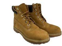 Timberland 6 Waterproof Boots 10361 Wheat Nubuck US Size 6.5
