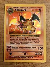 Pokemon Base Set Shadowless Charizard 4/102 Holo Rare Foil Holographic Card