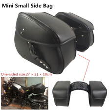 2PC Motorcycle Side Bag Electric Car Mini Hanging Bag Saddlebag Luggage Tool Box