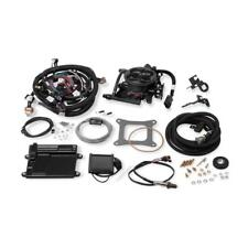Holley Fuel Injection System 550-410; 950 cfm Hard Core Gray