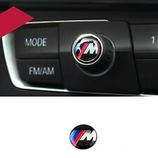 M Sport Button i Multimedia Badge Logo Emblem Sticker for BMW 11mm