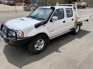 2012 Nissan Navara D22 STR 4x4 turbo diesel 181km light damage repairable drives